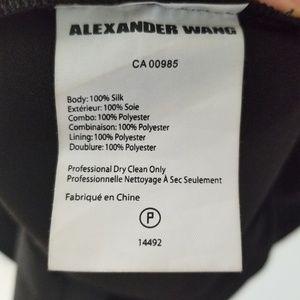 Alexander Wang Dresses - Alexander Wang LBD twist back black mini dress